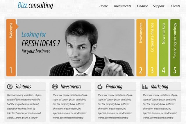 Website design and development resourses onextrapixel for Web design consultant