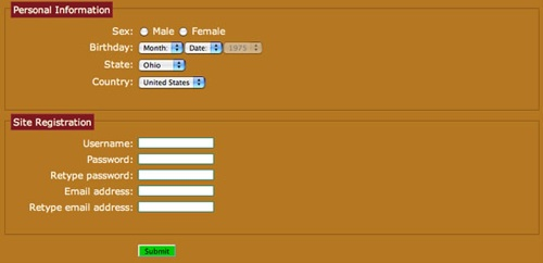 23form in CSS3 Exciting Functions and Features: 30+ Useful Tutorials
