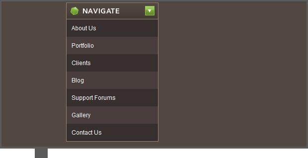 how to create a drop down menu in jquery