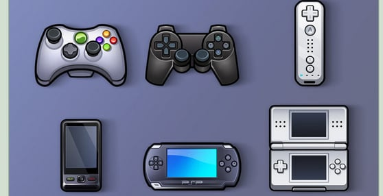 Game Console Icon Pack
