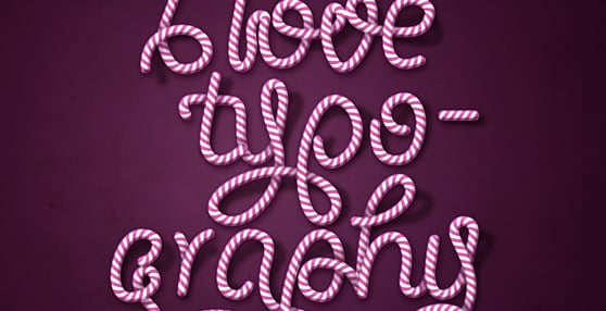 HOW TO CREATE CANDY CANE TYPOGRAPHY WITH PHOTOSHOP AND ILLUSTRATOR