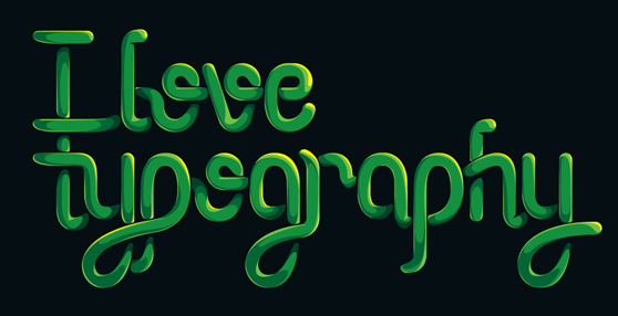 How to Create an Entangled Lettering Illustration