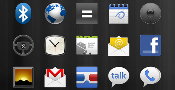PSD Android 2.2 Native Icons