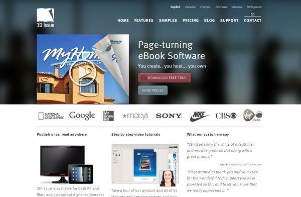 Big Backgrounds Web Design