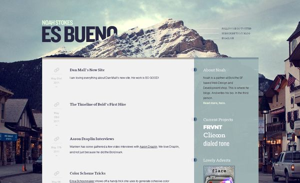 Big Backgrounds Web Design