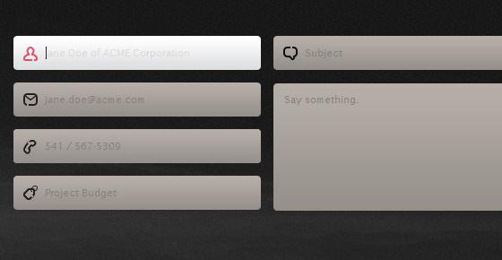 pixel2pixel design - Creative Contact And Web Form Designs