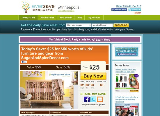 Eversave - Groupon Style Website Trend - How it Works?