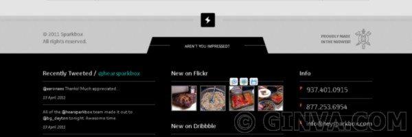 88+ Creative Web Footer Design Showcase