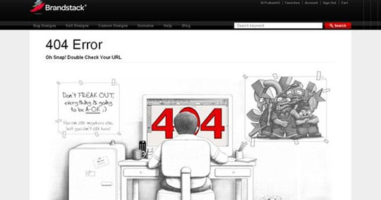Nice and Creative Error 404 pages