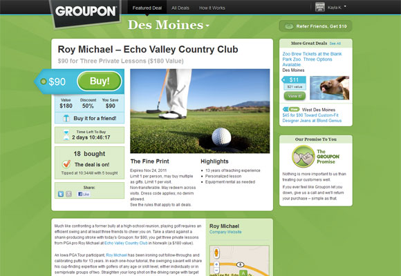 Groupon Style Website Trend - How it Works?