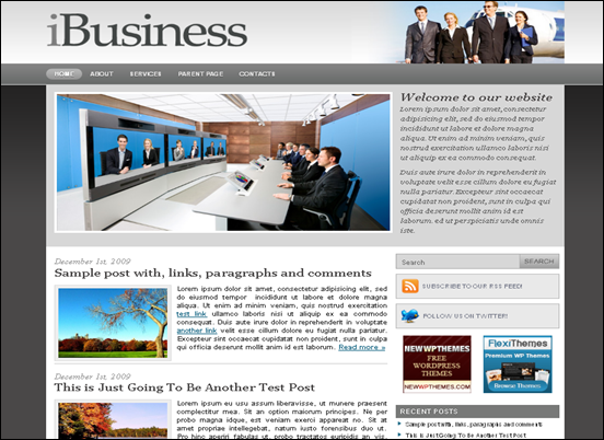 ibusiness best wordpress themes