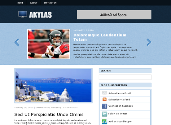 akylas best wordpress themes