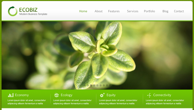 ecobiz best wordpress themes