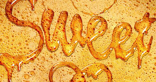 leaking honey effect
