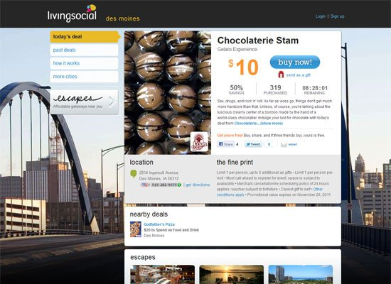 Living Social - Groupon Style Website Trend - How it Works?