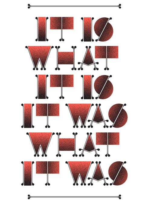 Exquisite uses of Typography