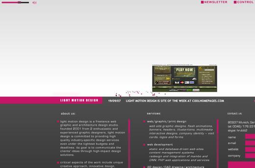 Unusualnavigation38 in  Websites with Unusual Navigation