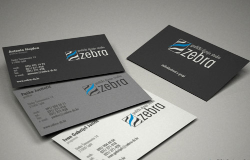 Enthralling Business Card