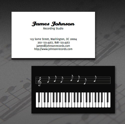 Sensational Business Card