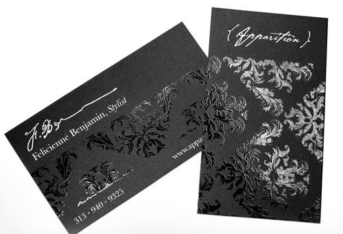 Fancy Business Card