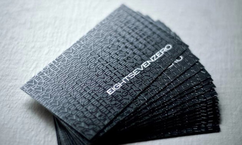 Really Neat B&W Business Card
