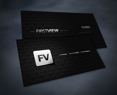 Simply Eye-Catching Business Card