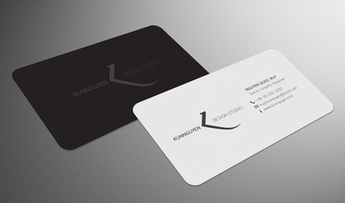 Thin and Neat Business Card