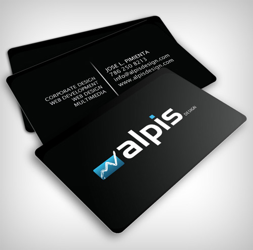 Glowing in Style Business Card