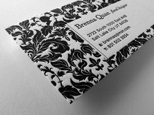 Style Stands Out for Business Card