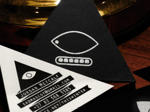 Great B&W Business Card