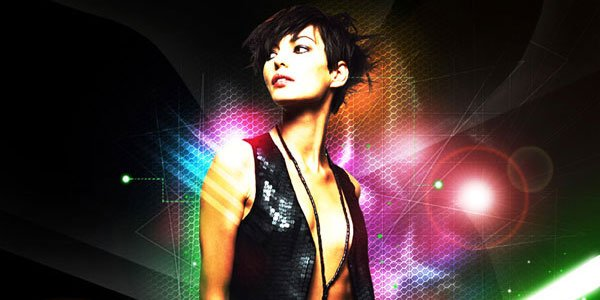 Use lighting effects to make a beautiful artwork in Photoshop CS5