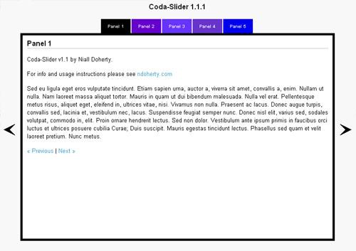 Coda-Slider 1.1.1
