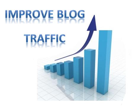 Improve blog traffic
