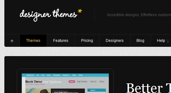 Designer Themes