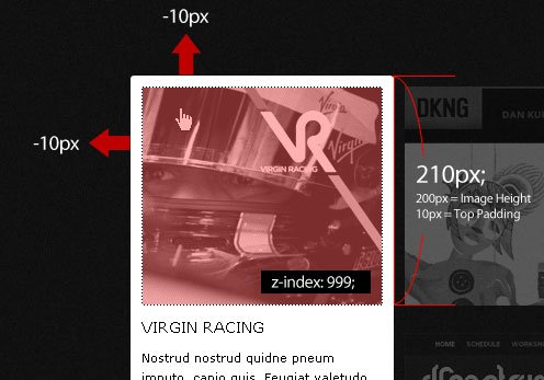 Popout Details on Hover w/ CSS