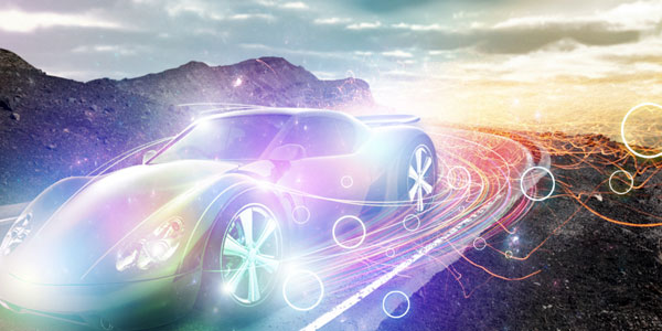 Create A Speeding Car Scene With Light Effects In Photoshop