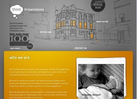 Think brownstone