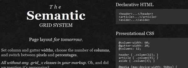 Semantic Grid System