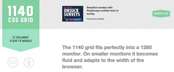 1140px CSS Grid