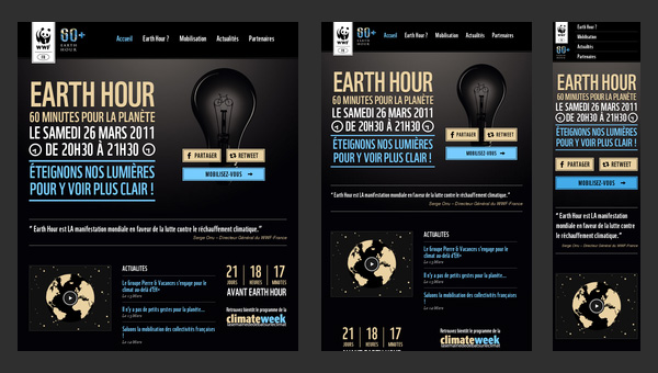 Collection of Responsive Web Design