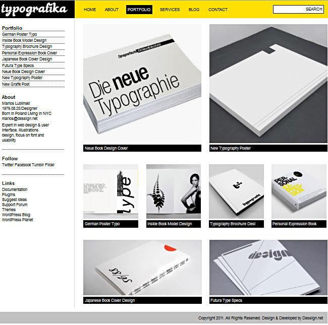 Typografikadessign