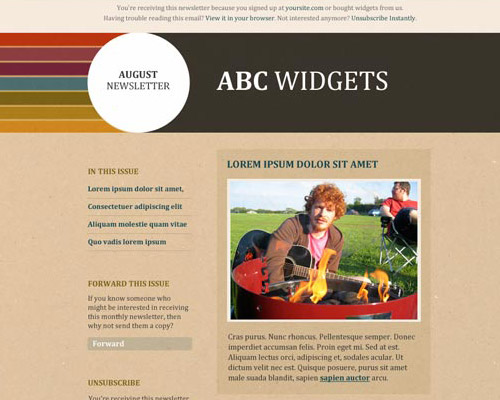 email template free abc widgets2