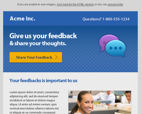 email template free acme