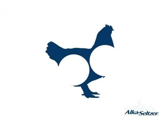 Alka Seltzer: Chicklhouette