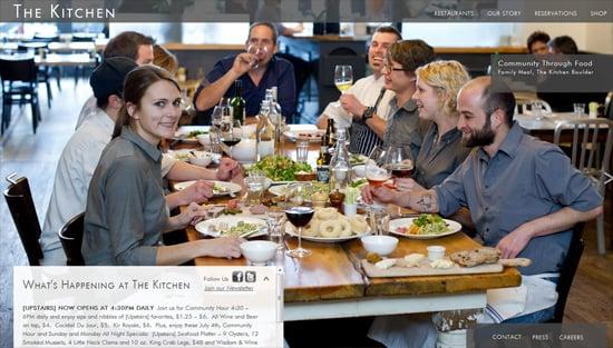 Photo background example: The Kitchen Community