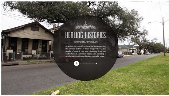Photo background example: Healing Histories